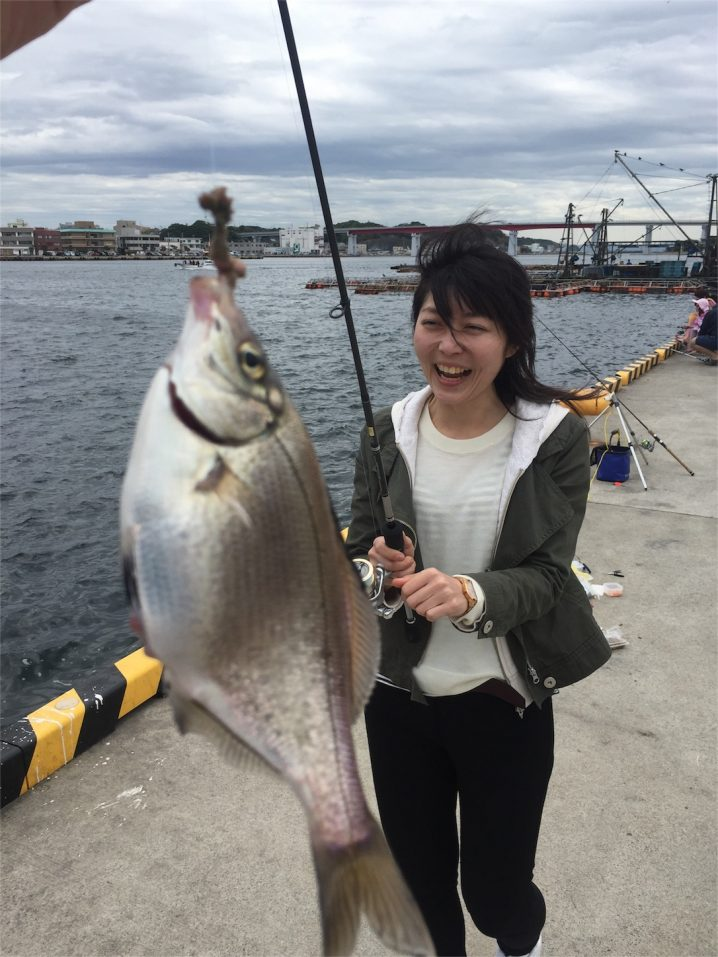 20160505城ケ島岸壁釣り