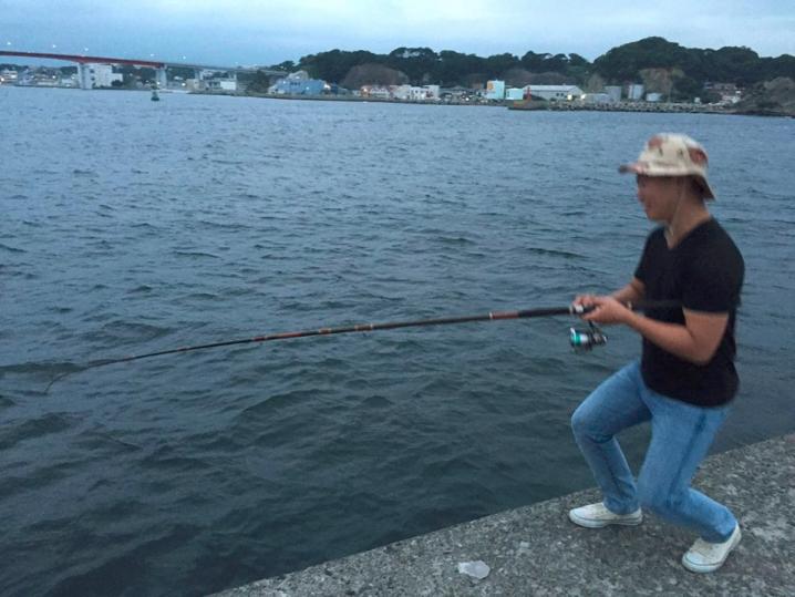 釣り 日本人 男性