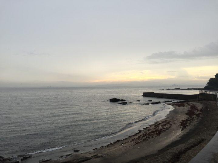 観音崎なかねボートから見た海