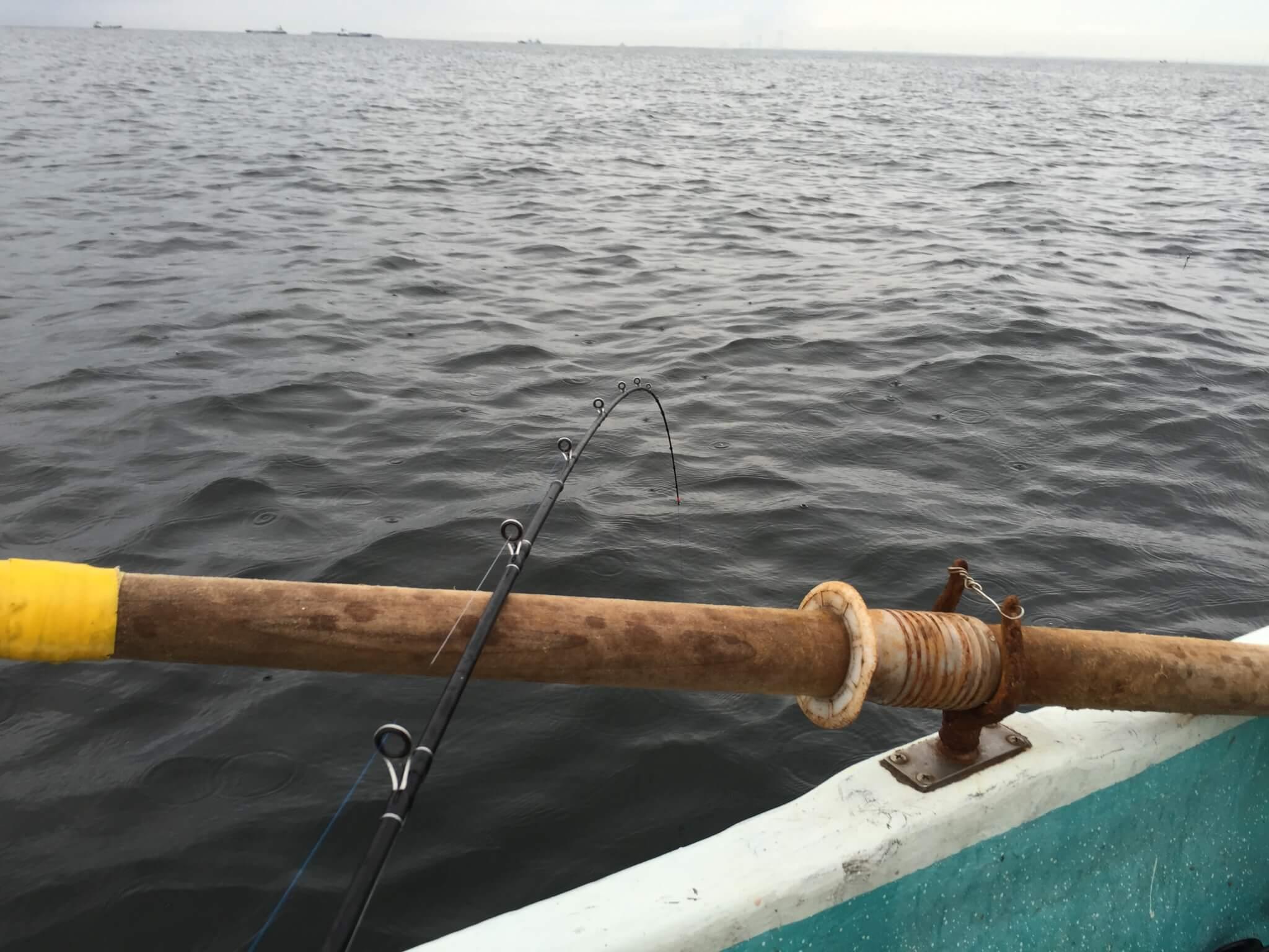 観音崎ボート釣り