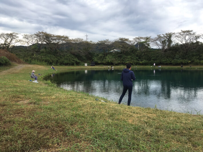 加賀フィッシングエリア1号池