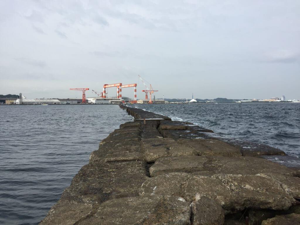 野島沖堤防