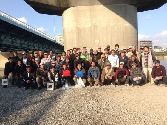 多摩川鯉釣り大会2015