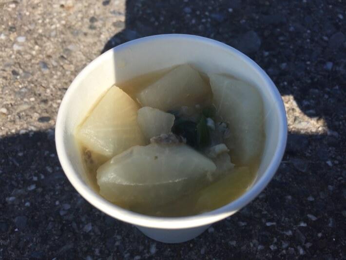 堤防汁(カワハギ・ゴンズイ)