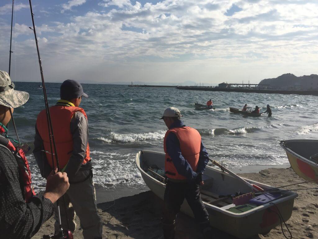 金田湾カワハギ釣り出船