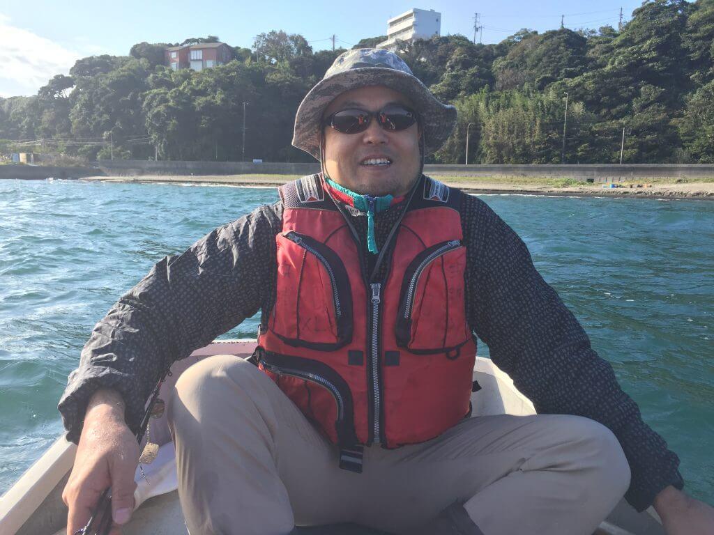 金田湾カワハギ釣りと鶴田さん