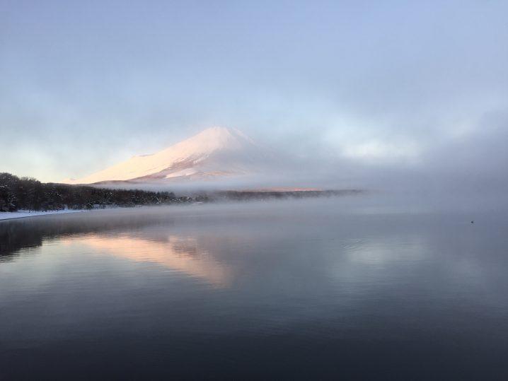 山中湖富士山