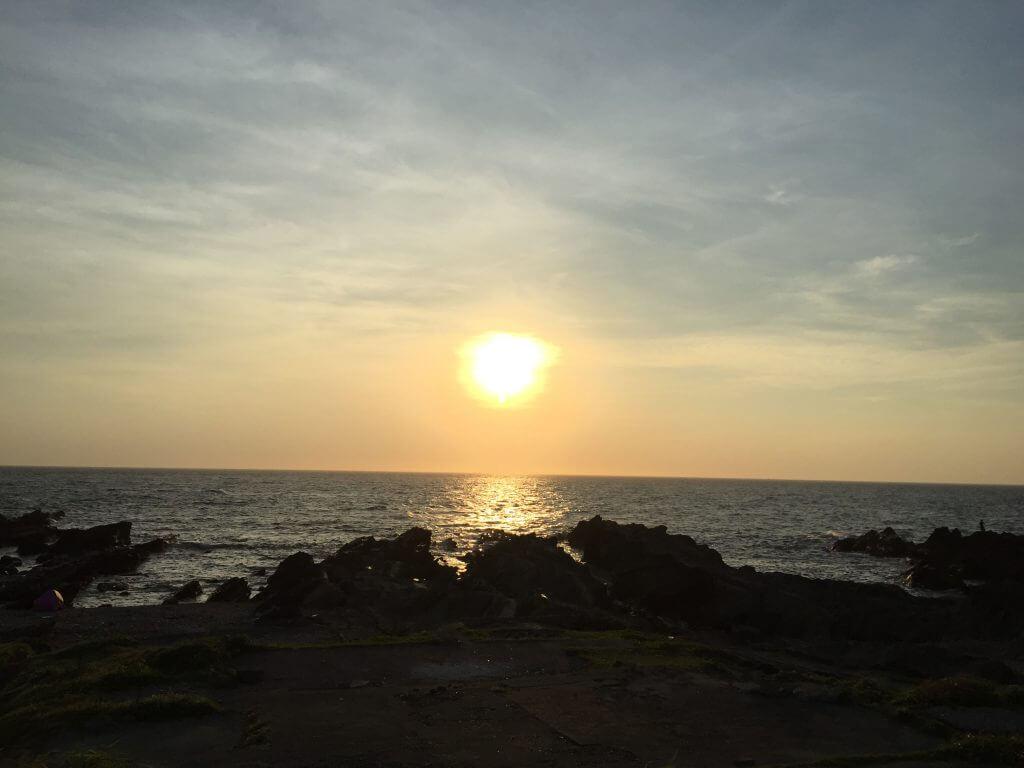 城ケ島の夕陽