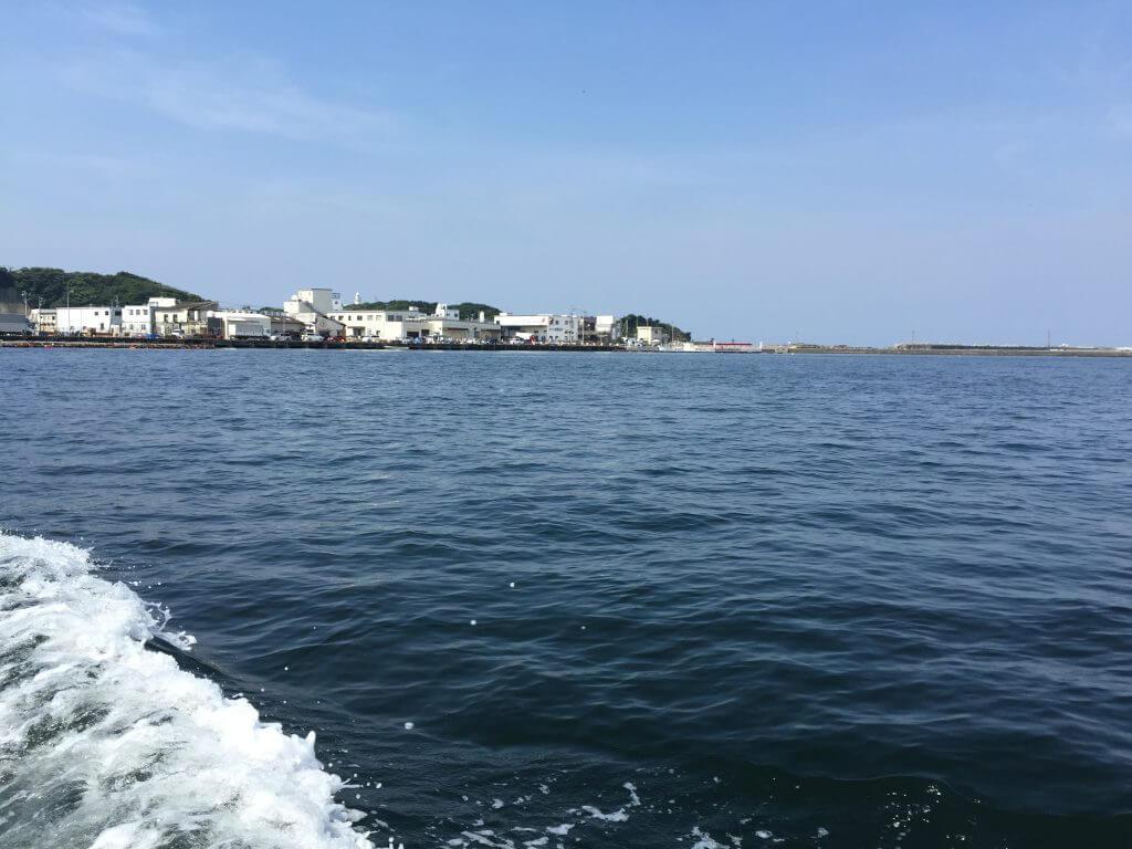 城ケ島から三崎港への渡し船