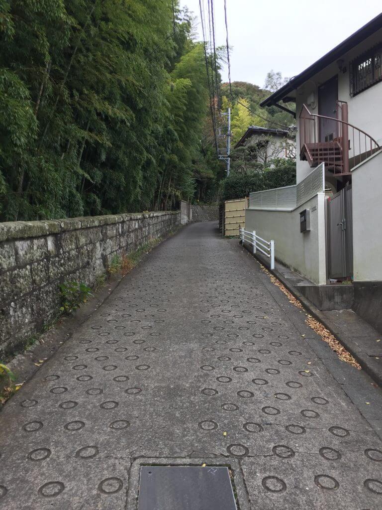 湘南平への道