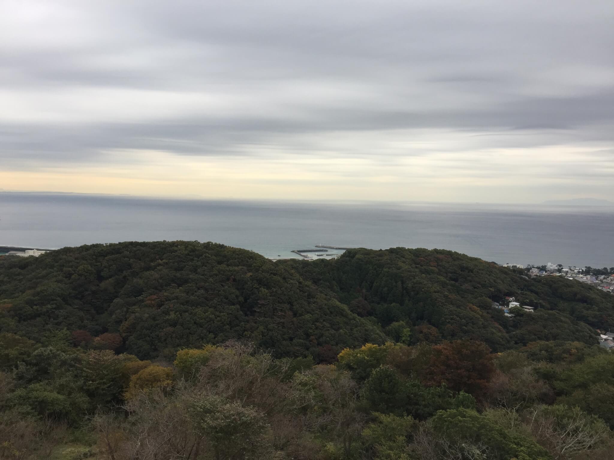 湘南平から大磯港