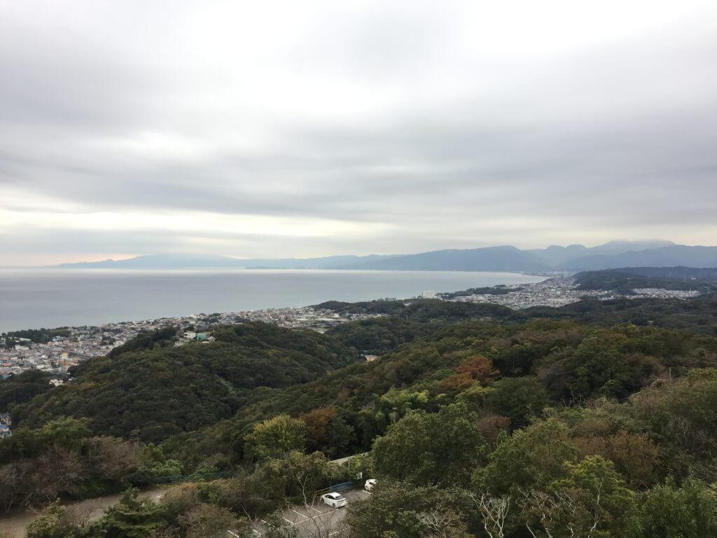 湘南平から小田原方面