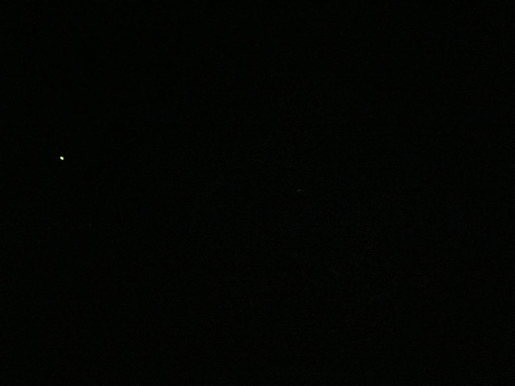 ケミホタルが光る