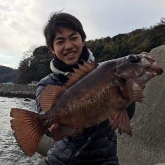神奈川 モンスターメバルが釣れた
