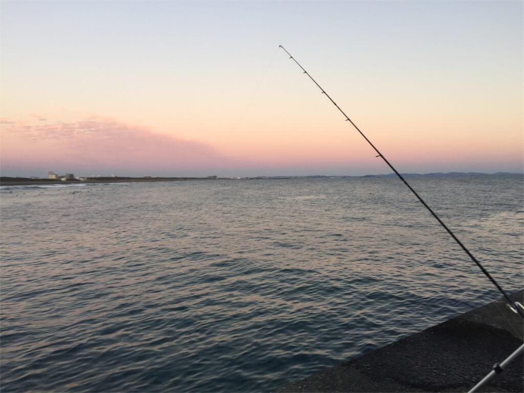 大磯港東堤防外側 釣り