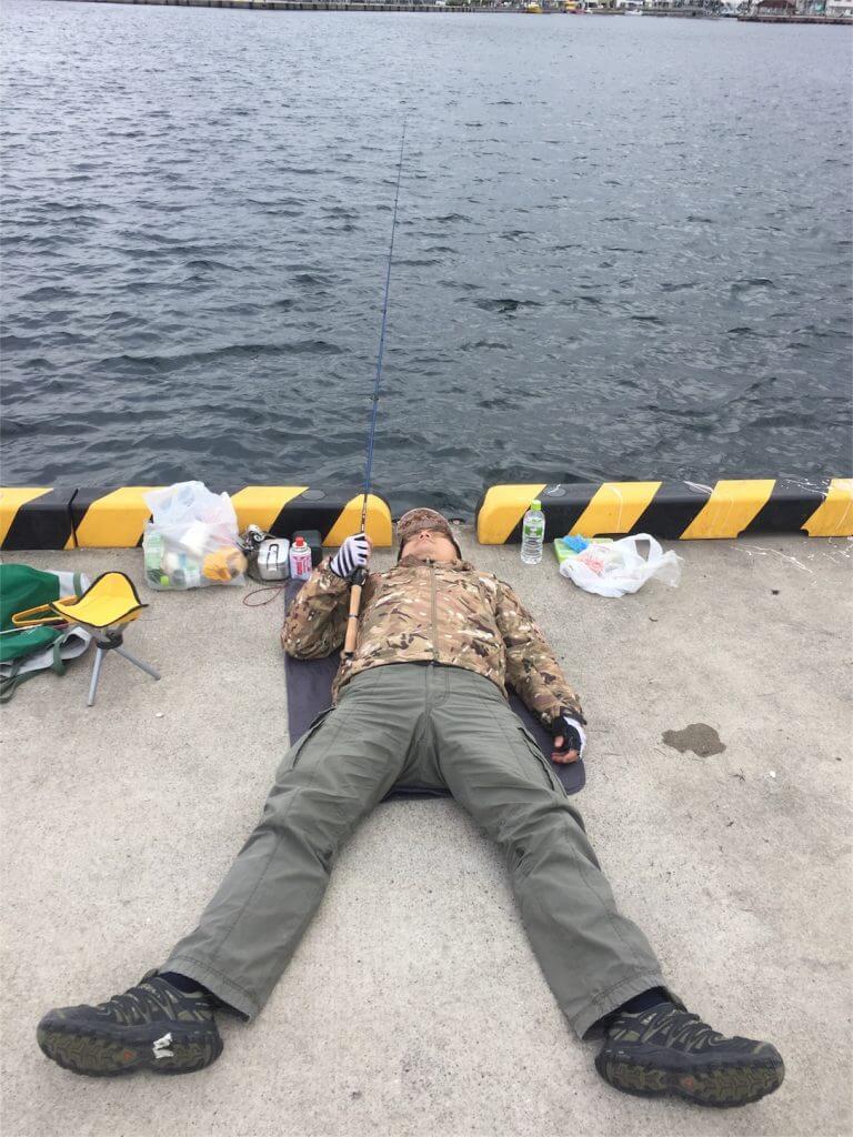 城ヶ島 釣り コムコム 寝釣り