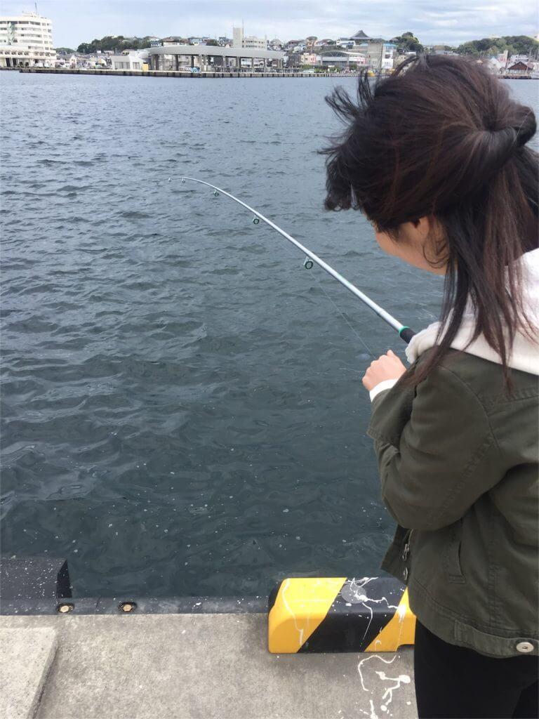 城ヶ島 釣り 上州屋セットの置き竿