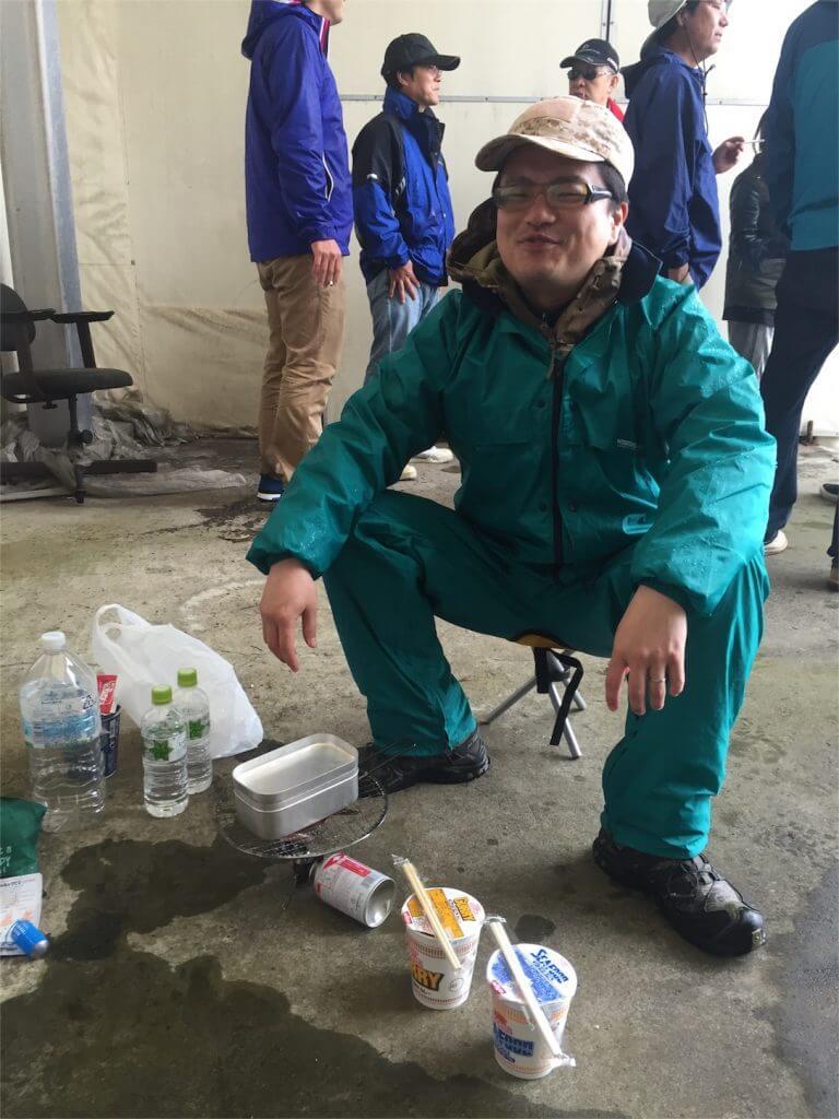 城ヶ島 釣り コムコム カップラーメン
