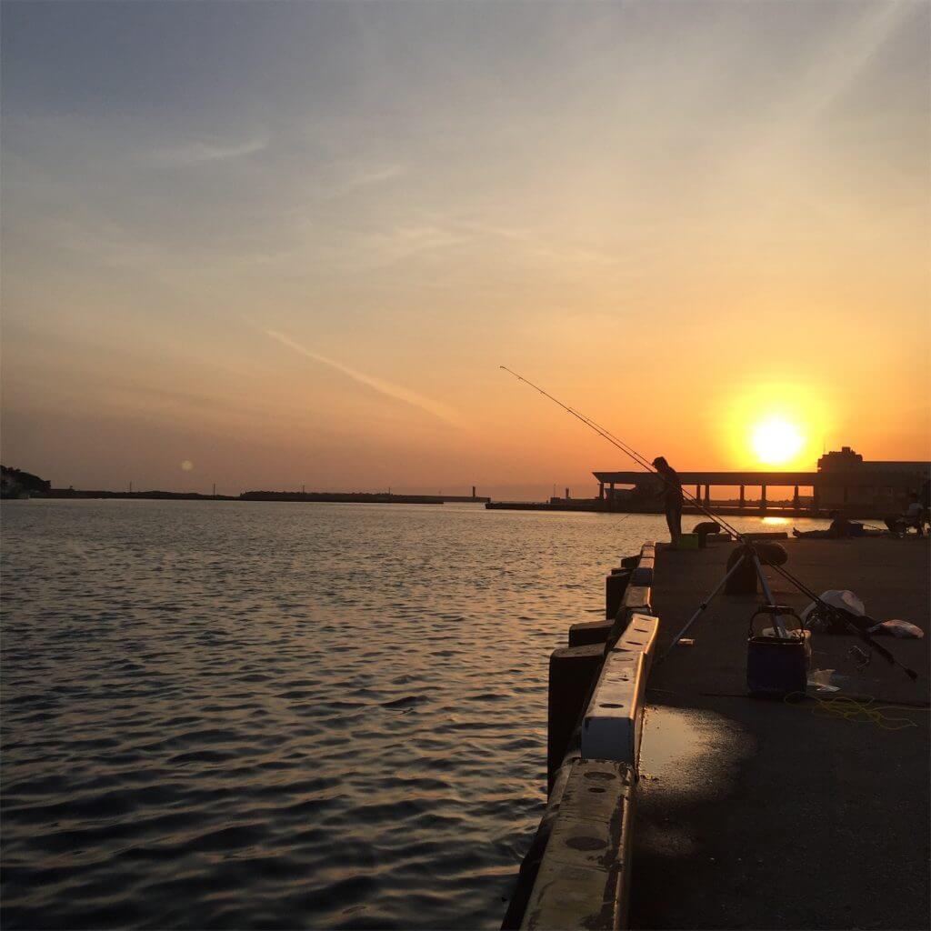 三崎港花暮岸壁 釣り メバリング
