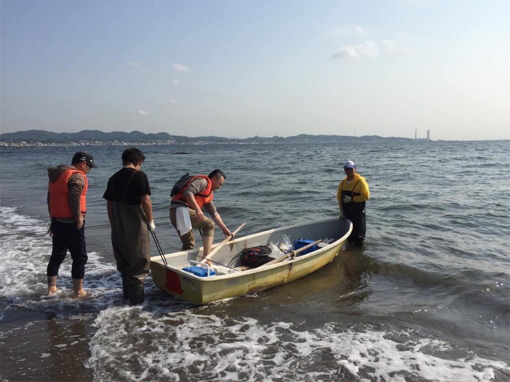 三浦半島金田湾 ボート釣り 出発