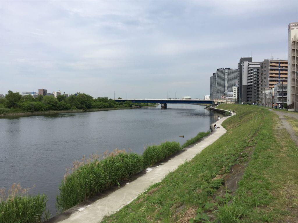多摩川 ウナギ釣り