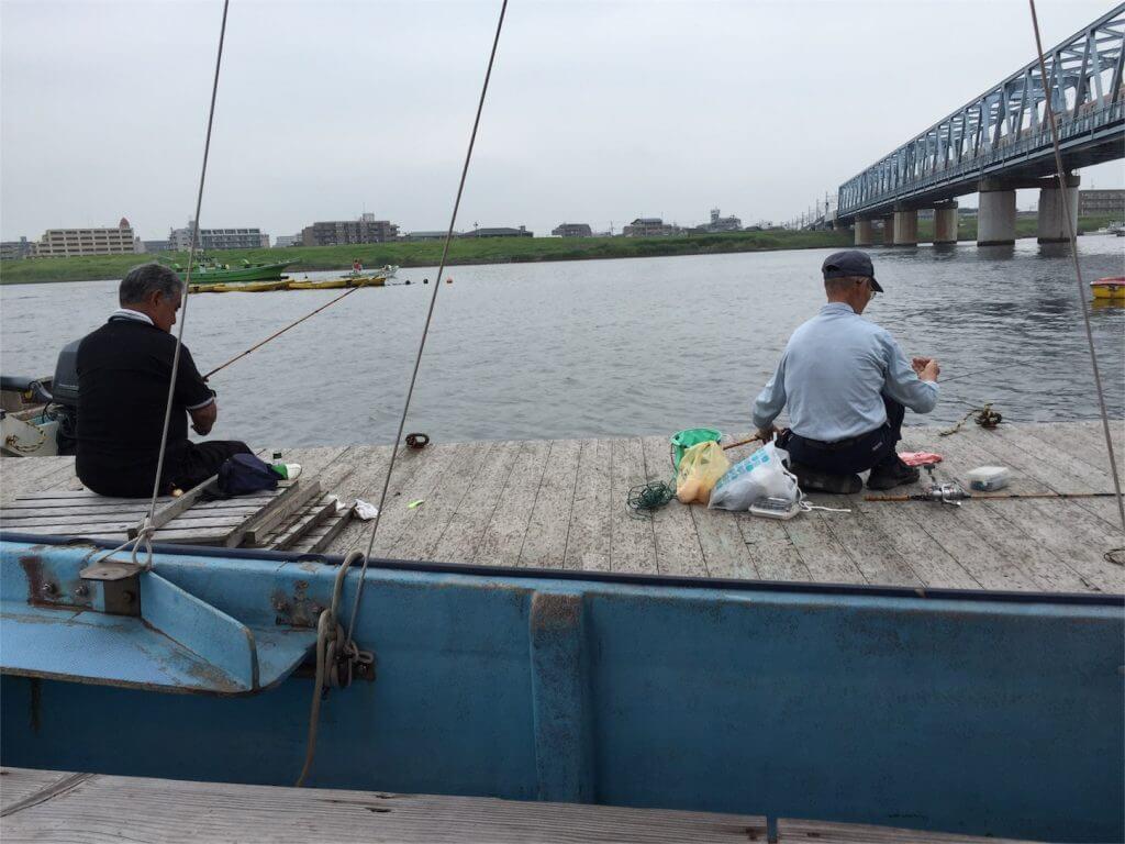 江戸川放水路 伊藤遊船 ハゼ釣り