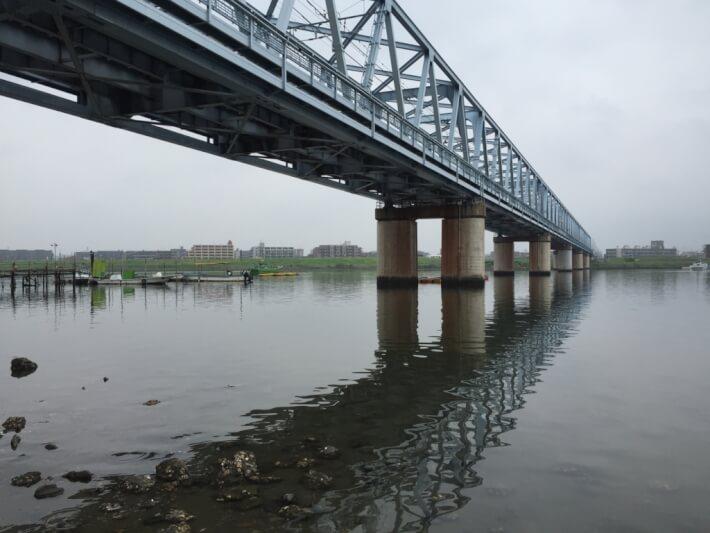 江戸川放水路 ハゼ釣り