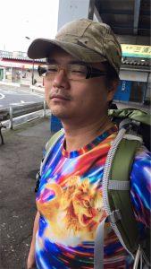 三浦半島 金田湾 ボート泳がせ釣り コムコム ネコTシャツ
