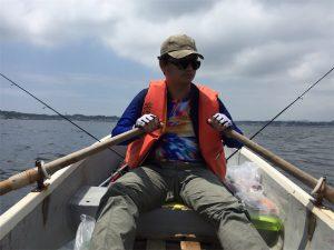三浦半島 金田湾 ボート釣り コムコム
