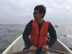 三浦半島 金田湾 ボート釣り 泳がせ釣り 平田剛士