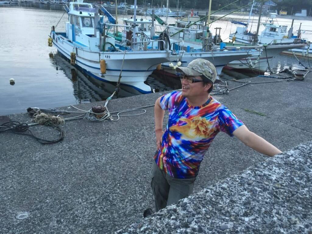 金田漁港外堤防 釣り コムコム