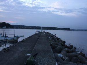 金田漁港外堤防 釣り