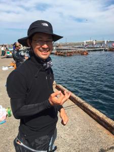 城ケ島岸壁 俺たちの釣り公式戦 毒魚フェチ?!