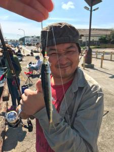 城ケ島岸壁 俺たちの釣り公式戦 古角天
