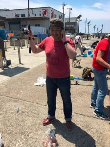 城ケ島岸壁 俺たちの釣り公式戦 古角天 電話釣り