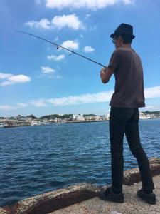 城ケ島岸壁 俺たちの釣り公式戦 平田剛士