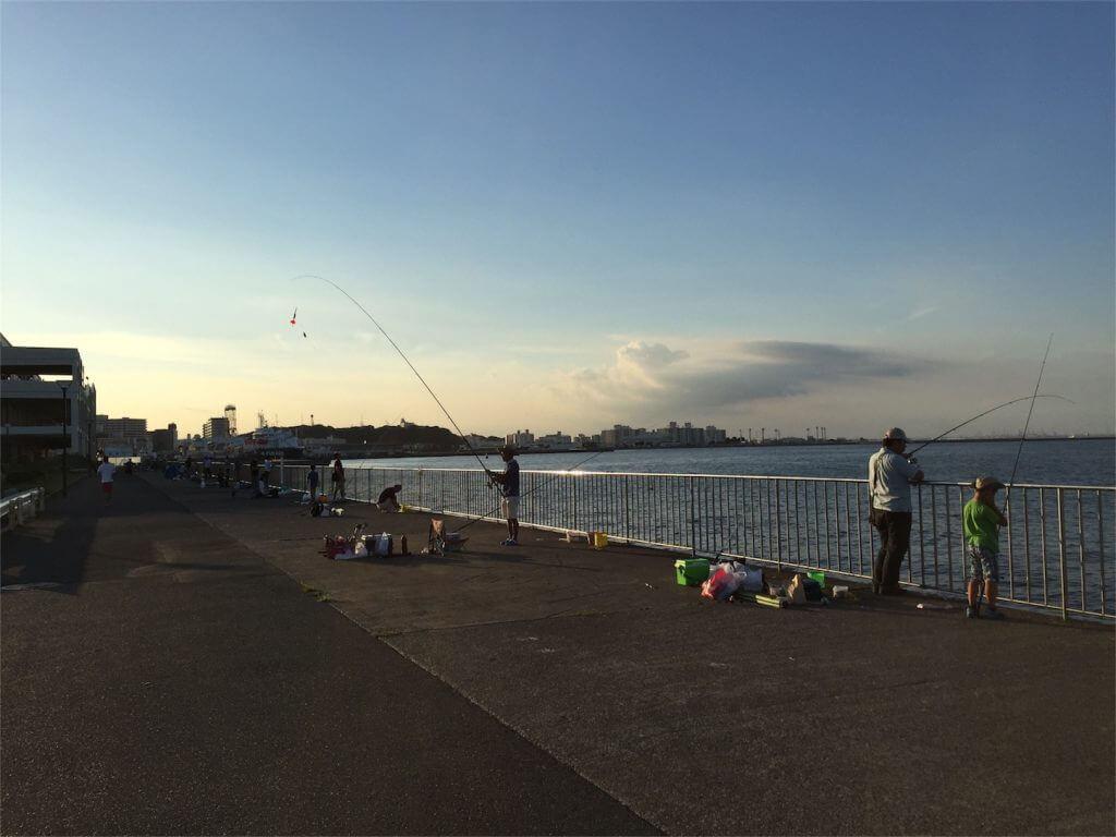横須賀うみかぜ公園 ショアジギング 釣り