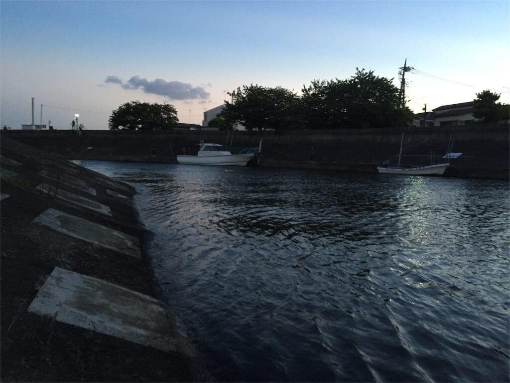海老取川 ハゼ釣り