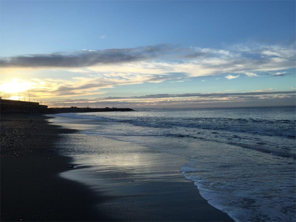 神奈川大磯海岸ショアジギング ポイント東