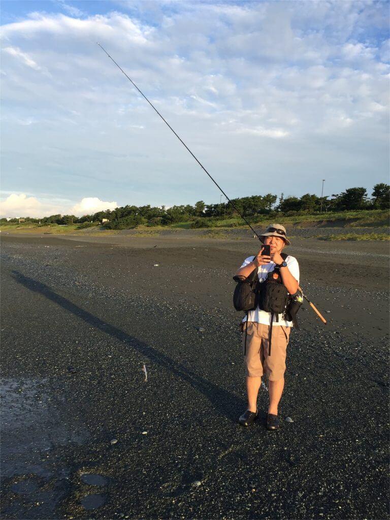 神奈川大磯海岸ショアジギング 釣りドカ