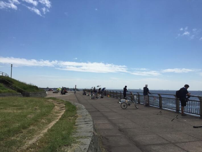 神奈川県東扇島西公園 釣ーリング日記