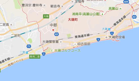 湘南界隈の地形 釣り