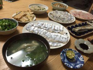 タチウオ釣り 金沢八景 調理