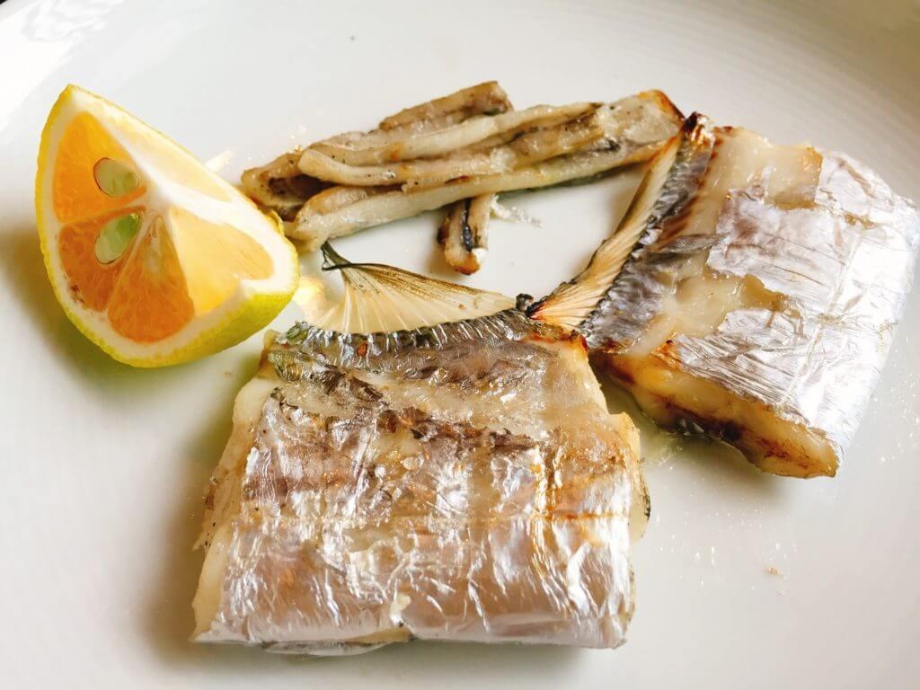 タチウオ釣り 金沢八景 料理