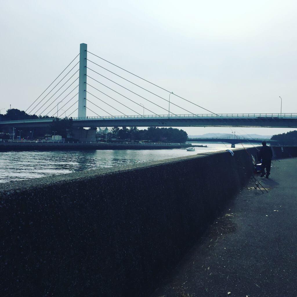 福浦岸壁のようす