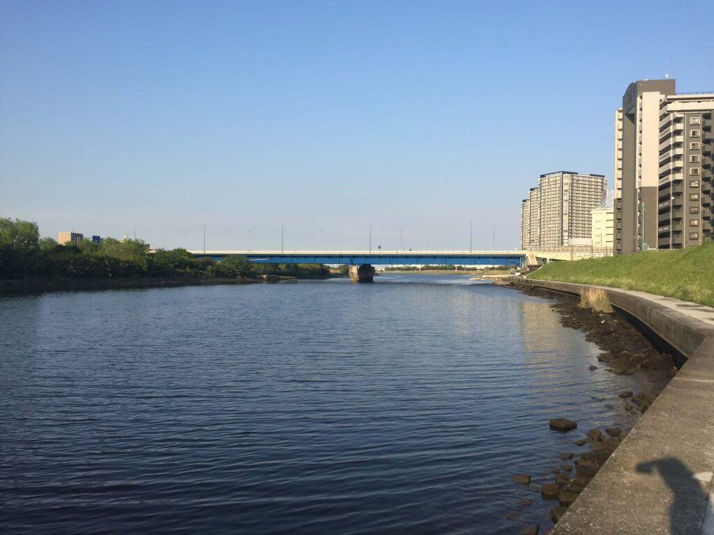 多摩川六郷テトラ下流