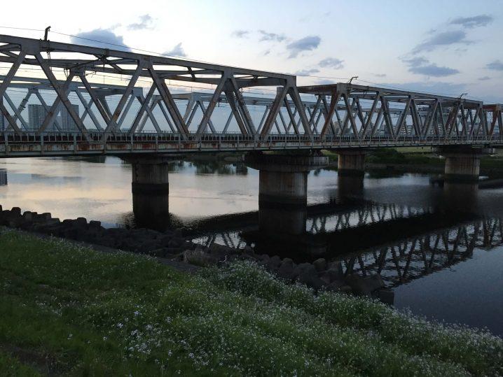 多摩川東海道線