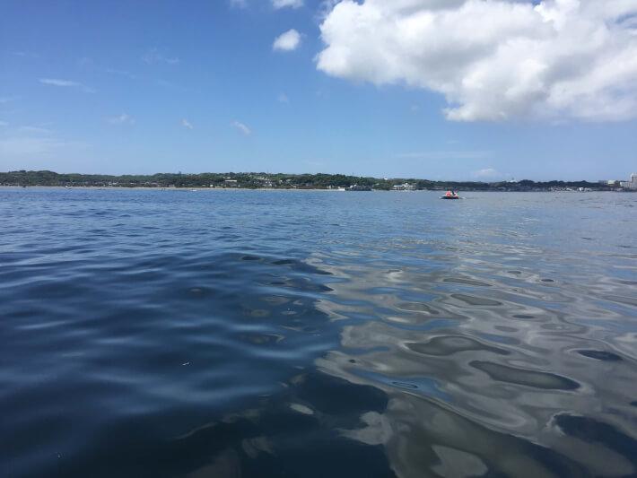 金田湾でボート釣り