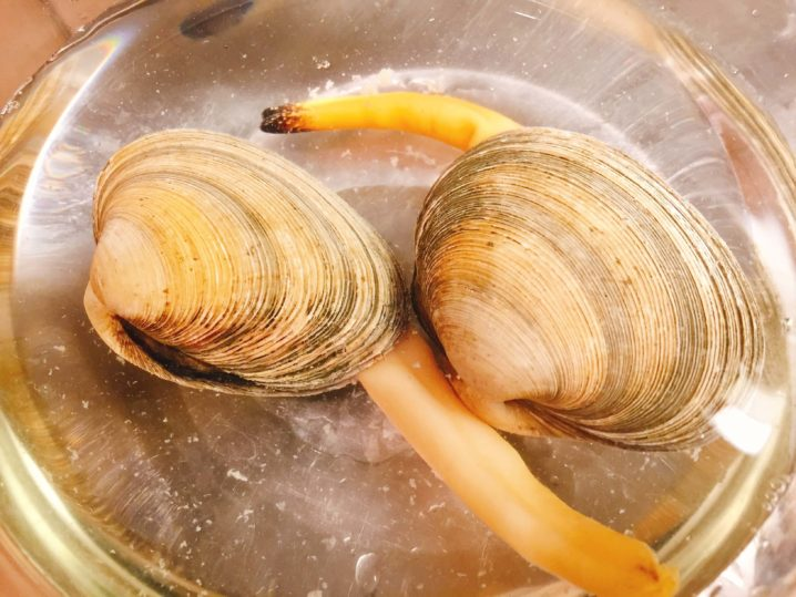 ウチムラサキを料理する