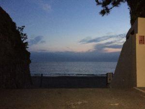 森戸海岸 入口